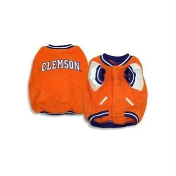 PEAPYW9 Clemson Tigers Varsity Dog Jacket