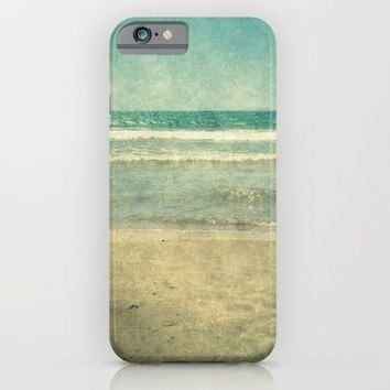 Seascape Vertical Abstract iPhone & iPod Case by ARTbyJWP