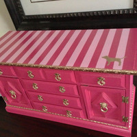 Vintage Large Jewelry Box Inspired By by ColorfulHomeDesigns