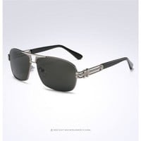 Men's Polarized Retro Vintage Sunglasses Driving Outdoor Sports Fishing Eyewear