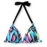 Malibu Wild Child Molded Cup Halter Bikini Top