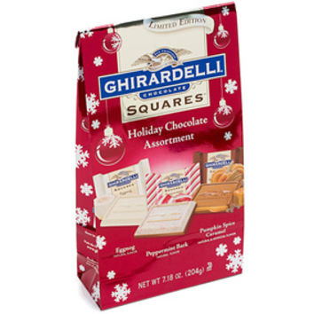 Ghirardelli Holiday Chocolate Squares Assortment: 7-Ounce Gift Bag