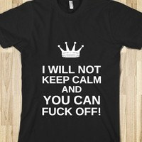 FUCK OFF KEEP CALM