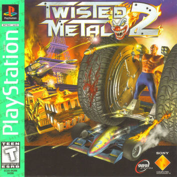 Twisted Metal 2 - Greatest Hits - Sony PlayStation (Very Good)
