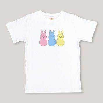 Marshmallow Bunnies Short Sleeve Tee