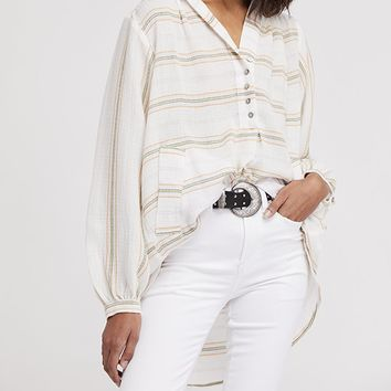 Rolling Clouds Pullover - Ivory by Free People