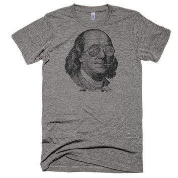 Ben Franklin Now This Is A Political Party Triblend T-Shirt