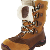 Pajar Alina Women's Faux Sherpa Lined Lace Up Snow Boots