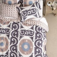 Yalova Duvet by Anthropologie Grey