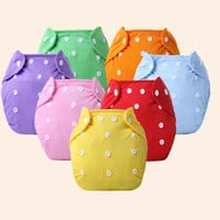 BEST 2016 Reusable Baby Cloth Diapers Cloth Washable Waterproof new Baby's Nappy Diaper Covers Fraldas Depano 0-12M WD587