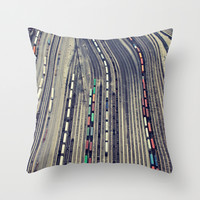 Way Up High #2 Throw Pillow by Christina Shaffell