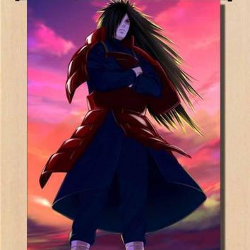 Naruto Sasauke ninja Anime Trilogy Home Decorative Poster  Uchiha Madara AT_81_8