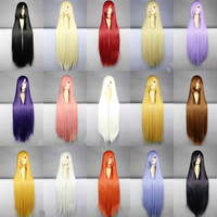 100cm Long Cosplay Wig