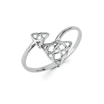 Irish knot, gold knot, irish jewelry, Irish ring, gold irish ring, dainty jewelry, Love knot