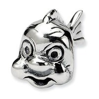 Sterling Silver Fish Bead