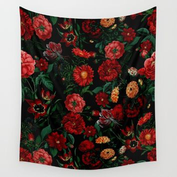 Botanical Garden Wall Tapestry by RIZA PEKER