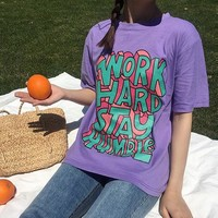 Work Hard Stay Humble Graphic Tee