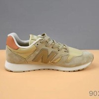 DCCK1IN cxon new balance nb520 retro air permeability yellow for women men running sport casual shoes sneakers