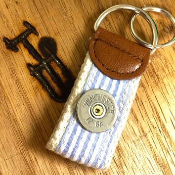 Shotgun Preppy Key Fob