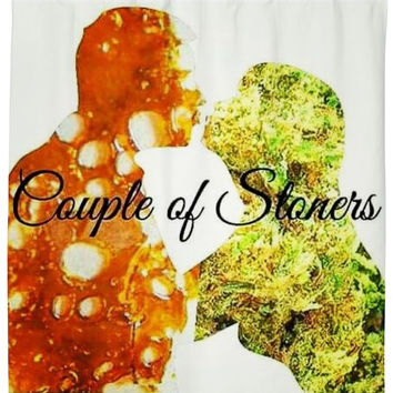 Couple of Stoners- Shower Curtain