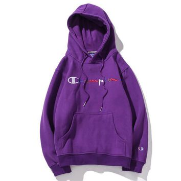 Champion Fashion Casual Top Sweater Pullover Hoodie-18