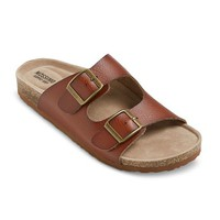 Women's Bailey Two Buckle Footbed Sandals