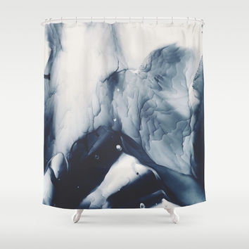 Lonely Life Shower Curtain by duckyb