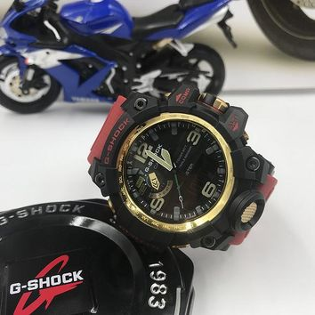 KUYOU C011 Casio G Shock GWG-1000 Plastic Straap Fashion Electronic Watches Black Red Gold 2