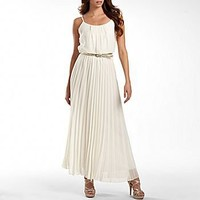 Bisou Bisou® Pleated Maxi Dress : jcpenney