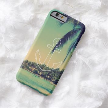 Vintage Summer Anchor iPhone 6 case
