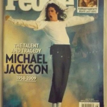 Michael Jackson Farewell Tribute * Farrah Fawcett * July 13, 2009 People Wekly Magazine SPECIAL DOUBLE ISSUE