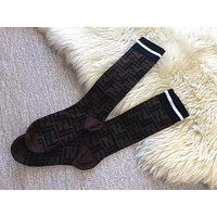Fendi Lurex interlocking F socks