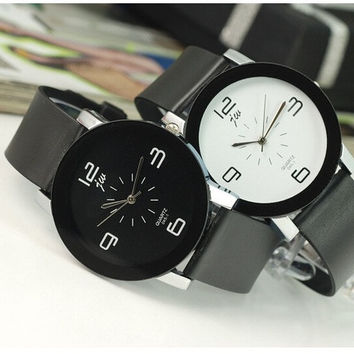 casual couple quartz watch unisex women mens watches top brand luxury relogio masculino feminino wristwatches newest for gift = 1956884100