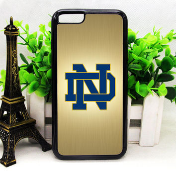 NOTRE DAME FIGHTING IRISH LOGO IPHONE 6 | 6 PLUS | 6S | 6S PLUS CASES