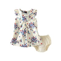 Baby Girl Dress & Floral Ruffle Dress | Tea Collection