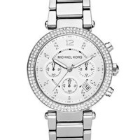 Michael Kors Watch, Women's Chronograph Parker Stainless Steel Bracelet 39mm MK5353 - All Watches - Jewelry & Watches - Macy's