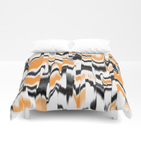 Marbled Art Pattern Throw Pillow by kasseggs