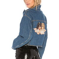FIORUCCI Berty Patch Jacket in Salt N Pepper | REVOLVE