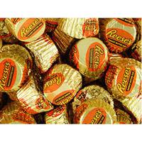 Mini Reese's Peanut Butter Cups: 25LB Case