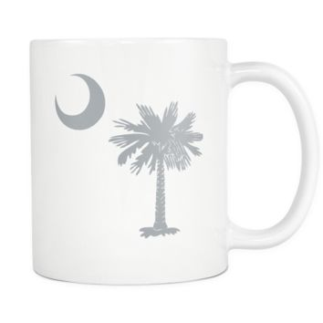 South Carolina Palmetto Moon GREY