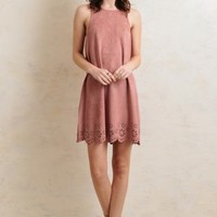 Kiss Me Softly Suede Dress