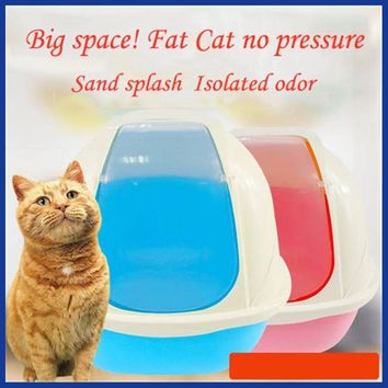 Double EnClosed Cat Litter Box. Select your Color.