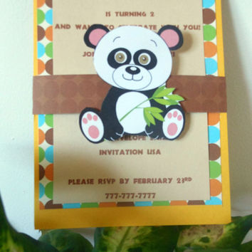 Children's Birthday Invitations ,Jungle Birthday Party Invitations, Zoo Birthday Invitations ,Zoo Baby Shower