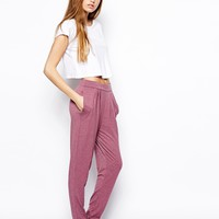 ASOS Peg Pants - Blue marl $19.