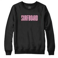 SURFBOARD CREW NECK SWEATSHIRT