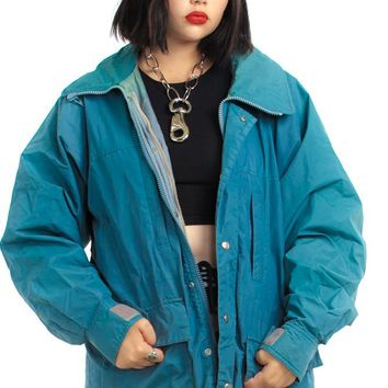 Vintage 80's Gore-Tex Hooded Jacket - One Size Fits Many