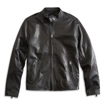 Lucky Brand Cafe Racer Jacket Mens