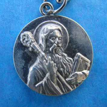 Benedict Religious Medal with Chain