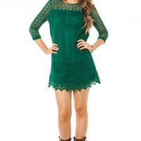 Hailee Dress in Green