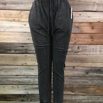 JOGGING PANT - WASHED CHARCOAL